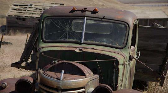 Camion abandonné