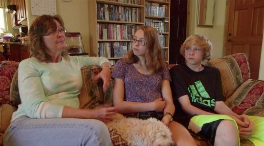 Nadine et ses enfants
